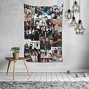 Sinora One Direction Tapisserie Wanddekoration
