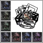 SSCLOCK Casino Spielzimmer Logo Roulette Layout