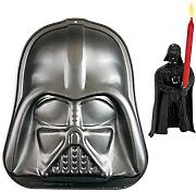 Star Wars Backform Darth Vader, inkl. Kuchenkerze