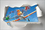 Sticker Kinder Torn Paper Cars Planes OEM 7628,
