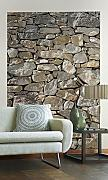 Sunny Decor - Vlies Fototapete STONE WALL -124 x