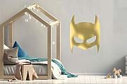 Super Hero Maske Set Kinderzimmer Wandsticker