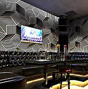Tapete 3D Vlies  Ktv Tapete Stereo Bar Dekoration