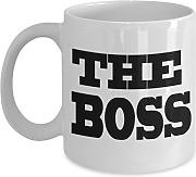 Tasse, Motiv Shaniztoons The Boss Office,