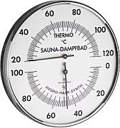 TFA Dostmann Analoges Sauna-Thermo-Hygrometer,