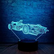 Touch Racing Auto 3D LED LAMPE Cool Boy NACHT