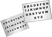 UMR-Design AS-124 font Airbrushschablone Step by