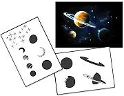 UMR-Design AS-138 space Airbrushstencil Step by