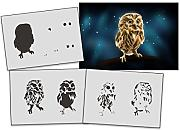 UMR-Design AS-318 Owl Airbrushschablone Step by