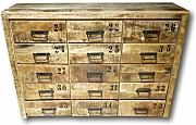 UrbanDesign Wooden 15 Drawer Cabinet - Munich-1