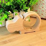 Vige Cartoon Cute Design Holz Sparschwein Bank