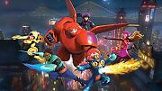 VLIES Fototapete-BIG HERO 6 Disney-254x184cm-4