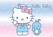VLIES Fototapete-HELLO KITTY-416x254 cm-4