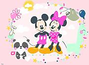 VLIES Fototapete-MINNIE MOUSE Disney-254x184cm-4