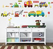 Wall Sticker  Traffic Cars Buses Wall Stickers