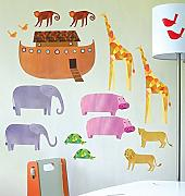 Wallies schälen und Stick Decor Wall Play, Arche