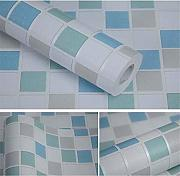 Wallpapers Moderne Mosaik-Tapete, Ziegel, Vinyl,