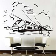 wandaufkleber cars Customized Train Quotes Home