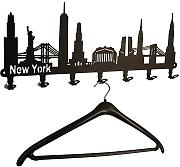 Wandgarderobe New York Skyline - USA Flurgarderobe