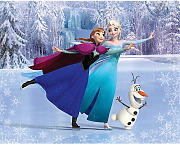 Wandsticker Disney Frozen