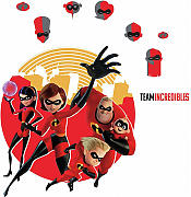 Wandsticker Disney Incredibles2