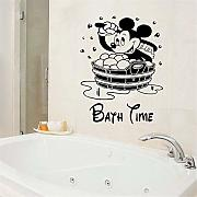 Wandtattoo Kinderzimmer Mickey Minnie Mouse