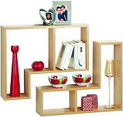 WATSONS Twin - Wandregal - 2er Set - Buche