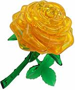 WE-WHLL Bausteine ​​3D Crystal Rose Modell