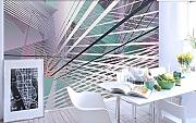 WH-PORP tapete For Walls Technology Geometric