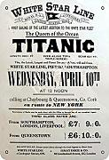 White Star Line Titanic The Queen of The Ocean