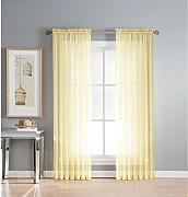 Window Elements Diamond Sheer Voile-Vorhang, extra