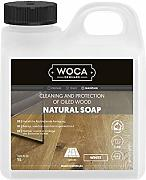Woca Holzbodenseife weiß 1 Liter inkl. Trevendo®