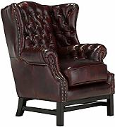 Woodkings® Chesterfield Kingsfield Sessel