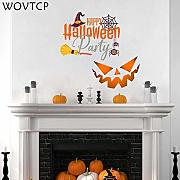 WOVTCP Halloween-Dekoration, Fenster-Dekoration,