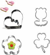XiYon 4 stücke Cookie Press Icing Set Backen &