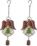YARNOW 2Pcs Wind Chime Ornament Metall Flügel