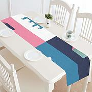 Zemivs Modern Table Runner Perfrct Cartoon