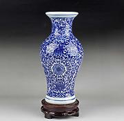 ZQZQ Jingdezhen Ceramics Antique Blue and White