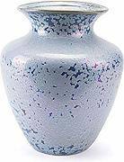 Zuo Crystal Vase (Tall), Blue