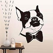 Zxfcccky Nette Boston Dog Decals Moderne